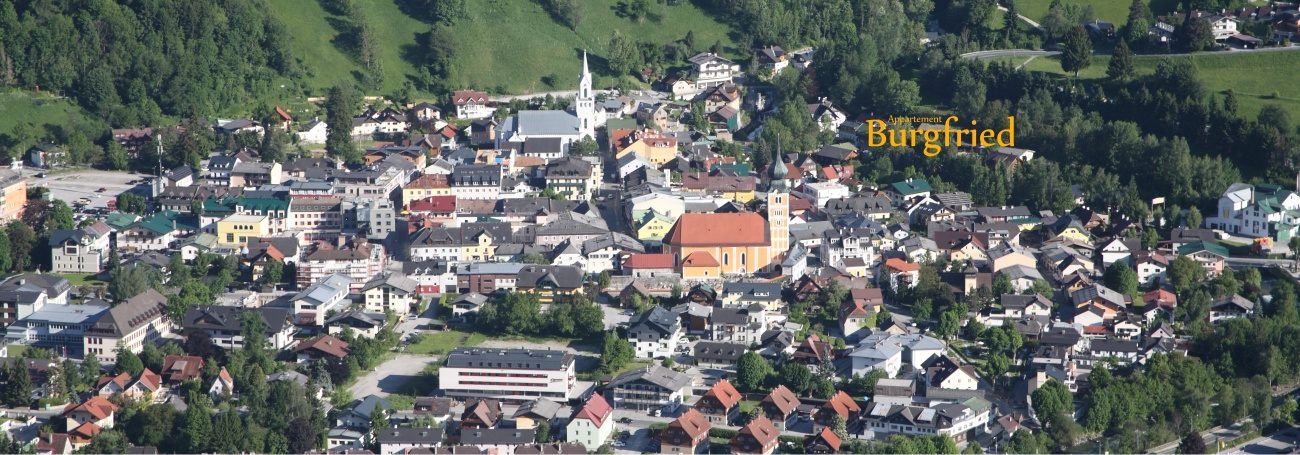 Stadt Schladming mit Appartement Burgfried